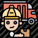 export, logistics, distribution, parcel, shipment icon