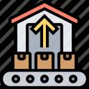 import, loading, goods, stock, warehouse
