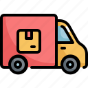 delivery, logistic, parcel, service, shipping, transport, truck
