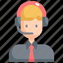 avatar, customer, man, profile, service, technician, user