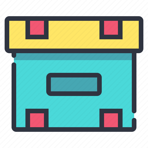 box, logistic, package, parcel icon
