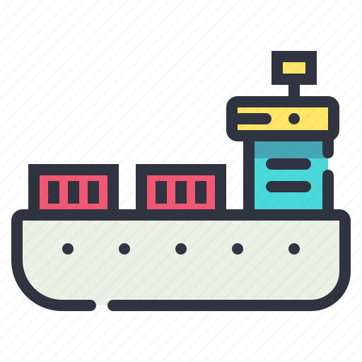 cargo, container, shipment, tanker icon