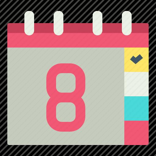 checklist, date, pland, schedule icon
