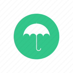 delivery, logistic, mail, shipping, transportation, umbrella, waterproof icon