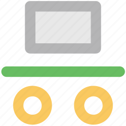 dolly, hand trolley, hand truck, luggage cart, pushcart, trolley, warehouse delivery icon