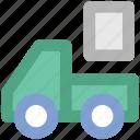 construction van, delivery, delivery car, logistics, truck, van, vehicle
