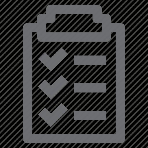check, check list, checking, logistic icon
