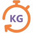 delivery service, digital scale, industrial scale, mechanical scale, platform scale, weight scale icon