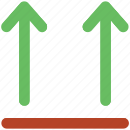 cargo, delivering, packaging, packaging symbol, parcel, shipping, this way up icon