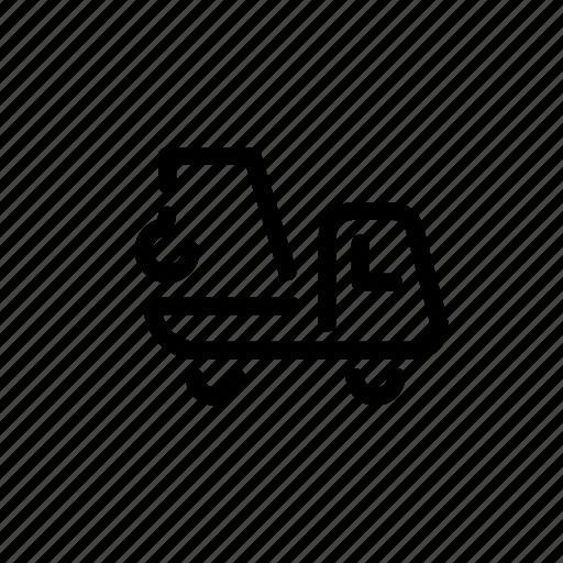 crane, delivery, transport, transportation, truck icon