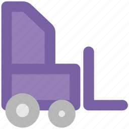 construction machinery, crane, excavator, heavy equipment, heavy machinery, lifter icon