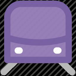 auto, locomotive, subway, subway train, tram, tramway, transport, vehicle icon