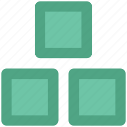boxes, cardboard boxes, courier boxes, delivery boxes, packages, sealed boxes icon