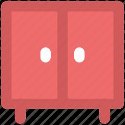 almirah, bureau, cabinet, cupboard, drawer, furniture, wardrobe icon