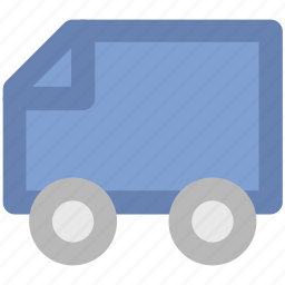 cargo truck, commercial delivery, logistic delivery, lorry, shipping, transport, vehicle icon