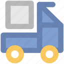 delivery car, delivery van, hatchback, pickup van, van, vehicle icon