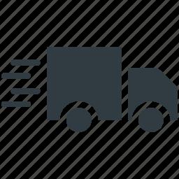 delivery car, delivery van, fast delivery, hatchback, van icon