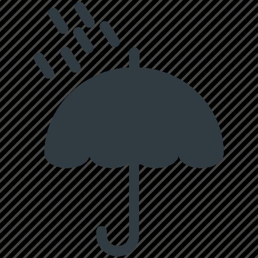 rain protection, raining, rainy weather, umbrella, weather icon