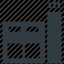 building, storage garage, storage unit, storehouse, warehouse exterior icon