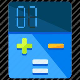 calculation, calculator, delivery, logistic, math, mathematics icon