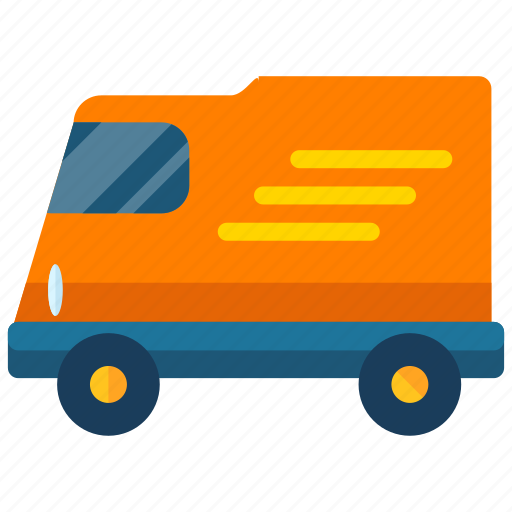 delivery, transport, transportation, van, vehicle icon