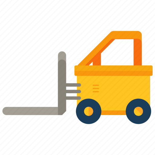 delivery, equipment, forklift, logistic, storage, warehouse icon