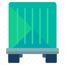 container, crate, delivery, logistic, package, storage icon