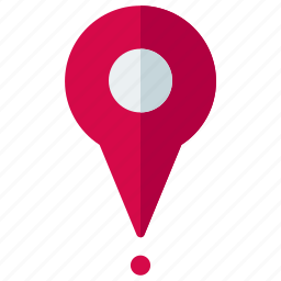 delivery, location, logistic, marker, navigation, pointer icon