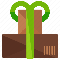 box, delivery, logistic, package, present, wrapped icon