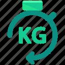 delivery, kilo, kilogram, logistic, weight icon