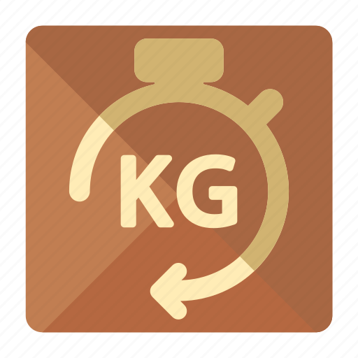 box, delivery, kilo, kilogram, logistic, package, weight icon