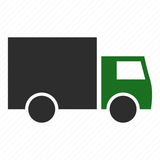 courier, delivery, land, local, lorry, truck icon
