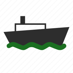 abroad, delivery, overseas, ship, shipment, shipping, slow icon