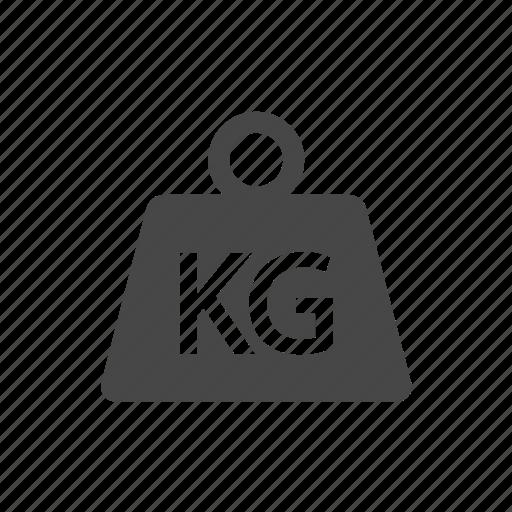 kg, kilogram, logistics, package, shipping icon
