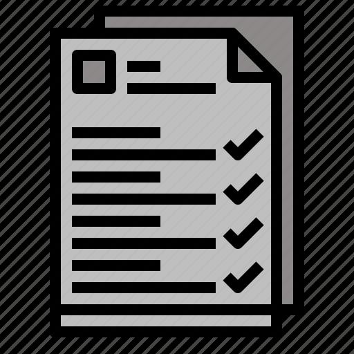 checking, interface, list, tasks, tick icon