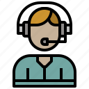 avatar, call, microphone, people, technology icon
