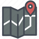 bussiness, delivery, gps, location, logistics, maps, world icon