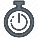 bussiness, delivery, logistics, send, stopwatch, time, watch icon