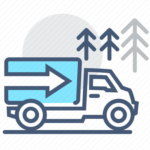 delivery, logistics, shipping, surge, tide, transportation, truck icon