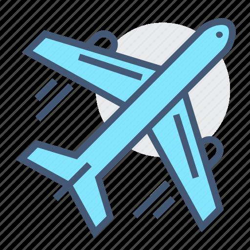 airplane, flight, jet, logistic, logistics, transport, transportation icon