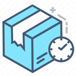 appointment, date, delivery time, logistic, postal, schedule, shopping icon