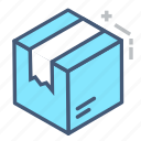 box, import, logistic, logistics, package, shopping, transport icon