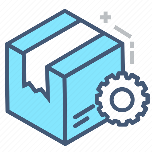 box, delivery, delivery settings, packaging, set, shipping, transport icon
