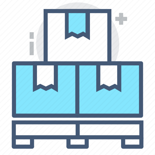 box, export, import, logistics, pallet, shipping, transport icon
