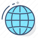 diagram, geography, globe, international, logistics, world, world wide icon