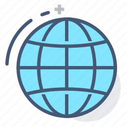 diagram, geography, globe, international, logistics, world, world wide icon