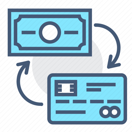 amount, cash, check, credit card, money, owed, payment icon