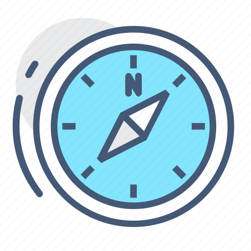 compass, east, magnetic compass, navigation, north, south, west icon