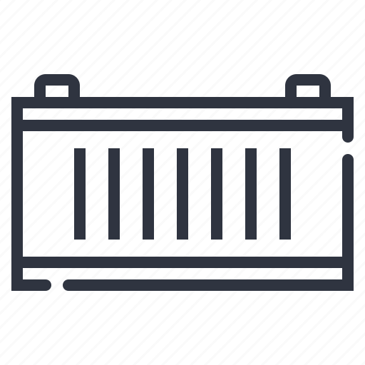 cargo, container, goods, port icon