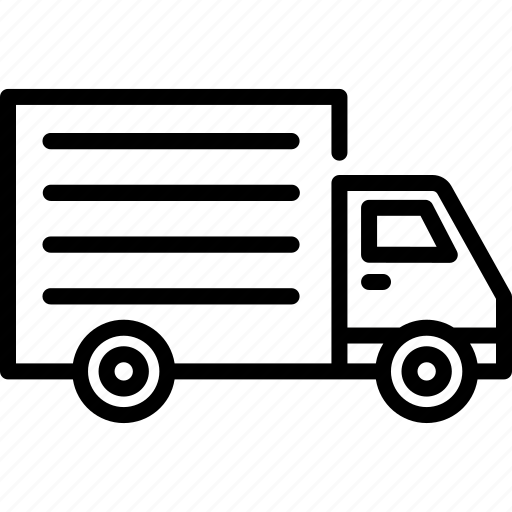 car, delivery, logistic, transport, transportation, truck, vehicle icon